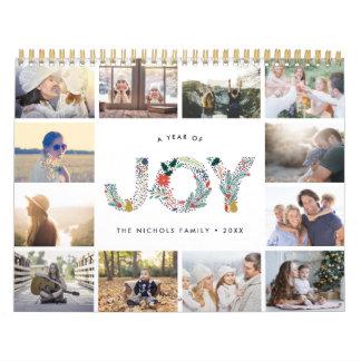 Joyful Type   2018 Photo Calendar