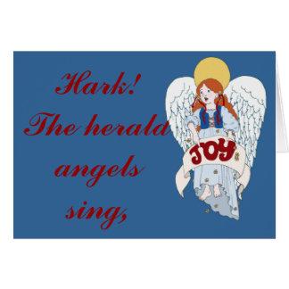 Joyous Angel Greeting Card