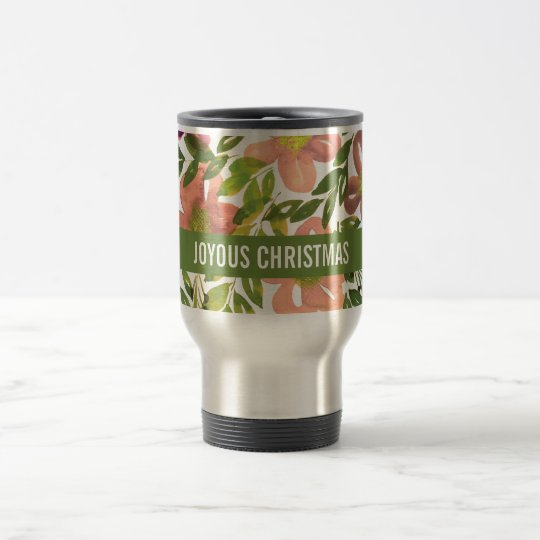 JOYOUS CHRISTMAS Holiday Mug