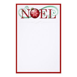 Joyous Noel Stationery