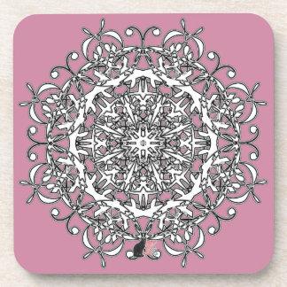 Joyous Octa Glyph Dawn Coaster