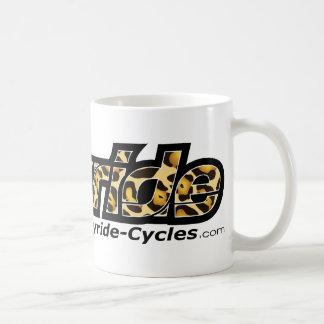 Joyride Cycles Leopard Bag Basic White Mug