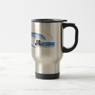 Jr its mark and here stainless steel travel mug