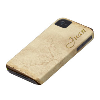 JUAN Name Branded iPhone 4 Case