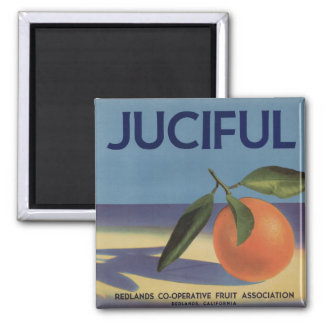 Juciful Orange Crate Label Magnets