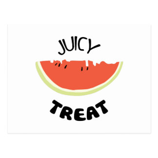Jucy Treat Postcard