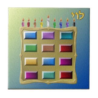 Judaica 12 Tribes Israel Levi Tile
