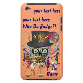 Judge Mardi Gras 30 colors Important view notes iPod Touch Case-Mate Case