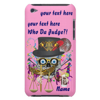 Judge Mardi Gras 30 colors Important view notes Case-Mate iPod Touch Case