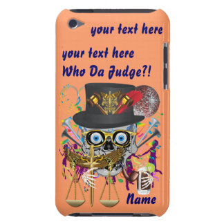 Judge Mardi Gras 30 colors Important view notes iPod Touch Cases