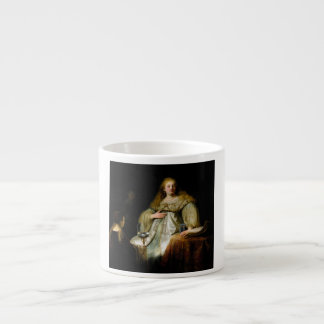 Judith at the banquet of Holofernes by Rembrandt Espresso Cup