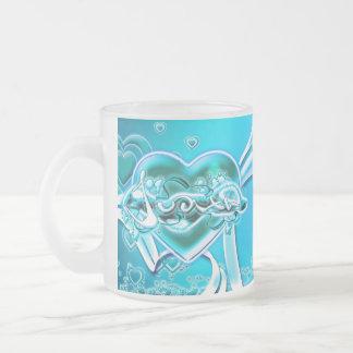 Judith Frosted Glass Coffee Mug