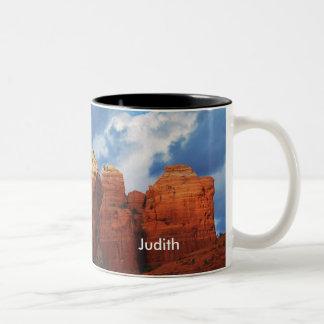 Judith on Coffee Pot Rock Mug