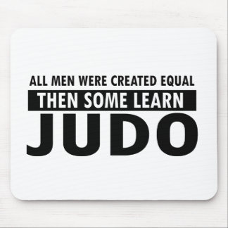 judo designs mouse pad