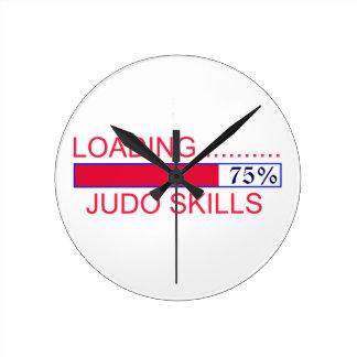 Judo Designs Round Clock