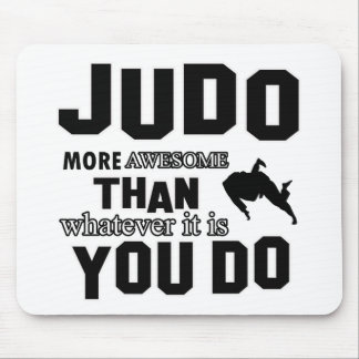 JUDO is awesome Mouse Pad