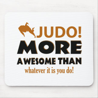 Judo Martial arts gift items Mouse Pad