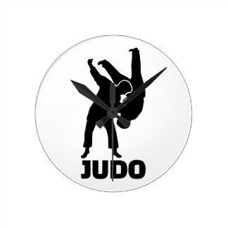 Judo Round Clock