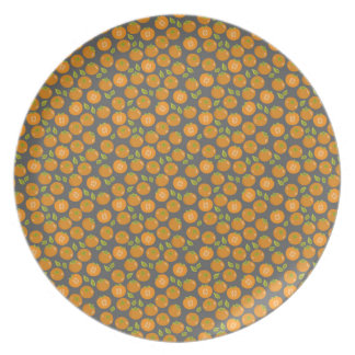 Juicy persimmons party plates