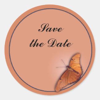 Julia Butterfly Classic Round Sticker