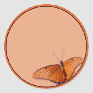 Julia Butterfly Classic Round Sticker