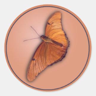 Julia Butterfly Round Sticker