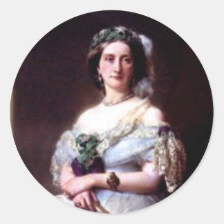 Julia Louise Bosville, Lady Middleton Round Sticker