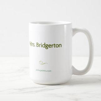 "Julia Quinn ""Mrs. Bridgerton"" Mug"