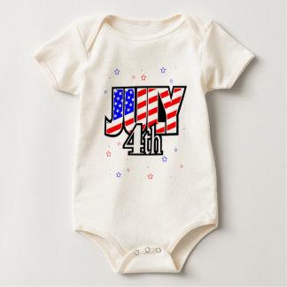 JULY 4 BABY BODYSUIT