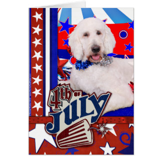 July 4th - GoldenDoodle - Max Card