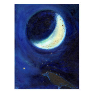 July Moon 2014 Postcard