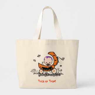 Jumba Baby Vampire Trick or Treat Tote Bag