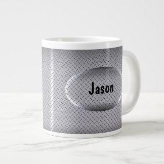 Jumbo Guys Monogram Coffee Mugs