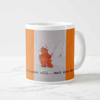 "Jumbo jet cup of ""anglers Fred """