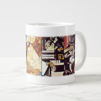 Jumbo Mug - Cubist's Kitchen, by Juan Gris