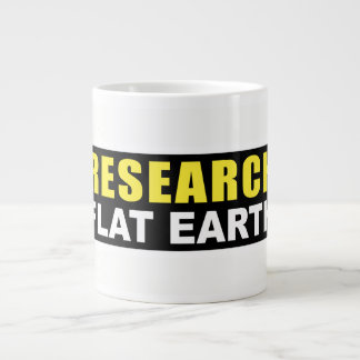Jumbo Mug Research Fat Earth Design