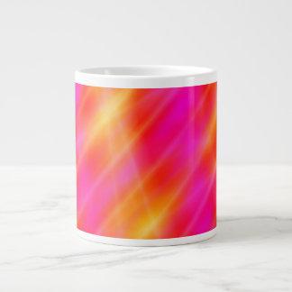 Jumbo Mug Space Lights Pink / Orange Design