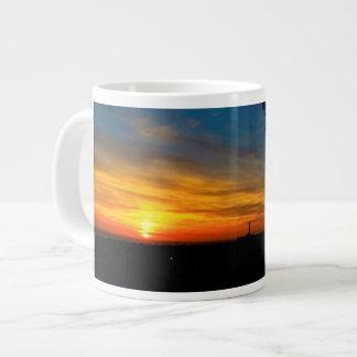 Jumbo Mug with sunset