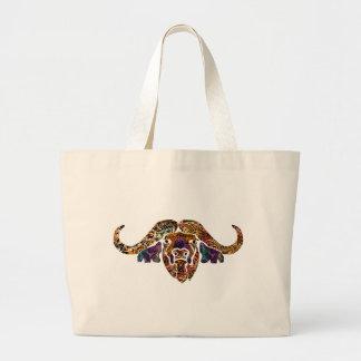 Jumbo Tote Bag with Safari theme batik design