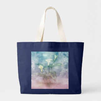 Jumbo Tote with Art Print of Lilies