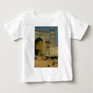 Jumma Musjed Lahore India by Edwin Lord Weeks Baby T-Shirt