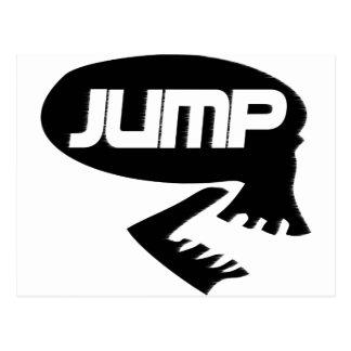 JUMP ROCK STYKE POSTCARD