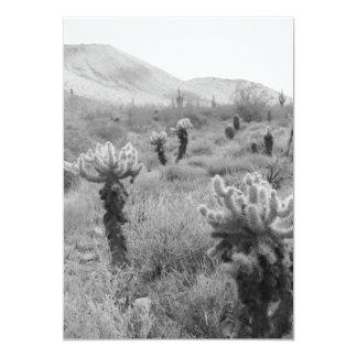 Jumping Cholla Cactus Invitation