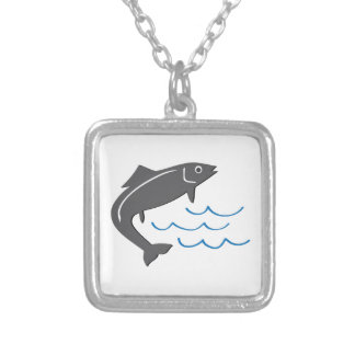 Jumping Fish Custom Necklace
