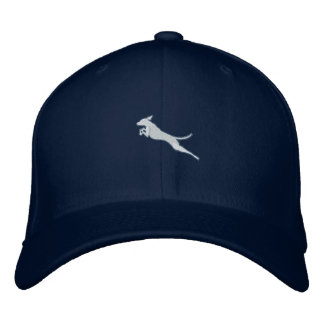 Jumping Vizsla Cap Embroidered Baseball Caps