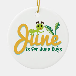 June Bug Christmas Ornament