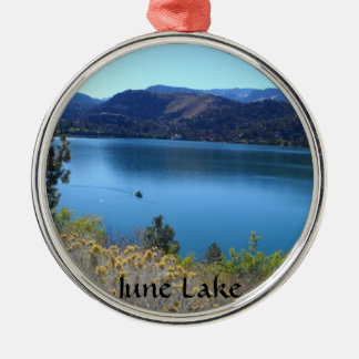 June Lake, California Christmas Ornament