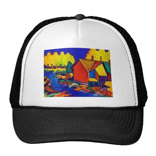 June Waterfall Trucker Hats