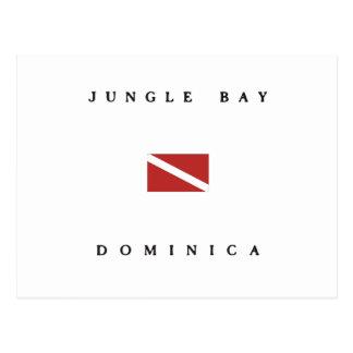 Jungle Bay Dominica Scuba Dive Flag Postcard