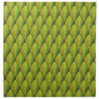 Jungle Leaf Pattern Napkin